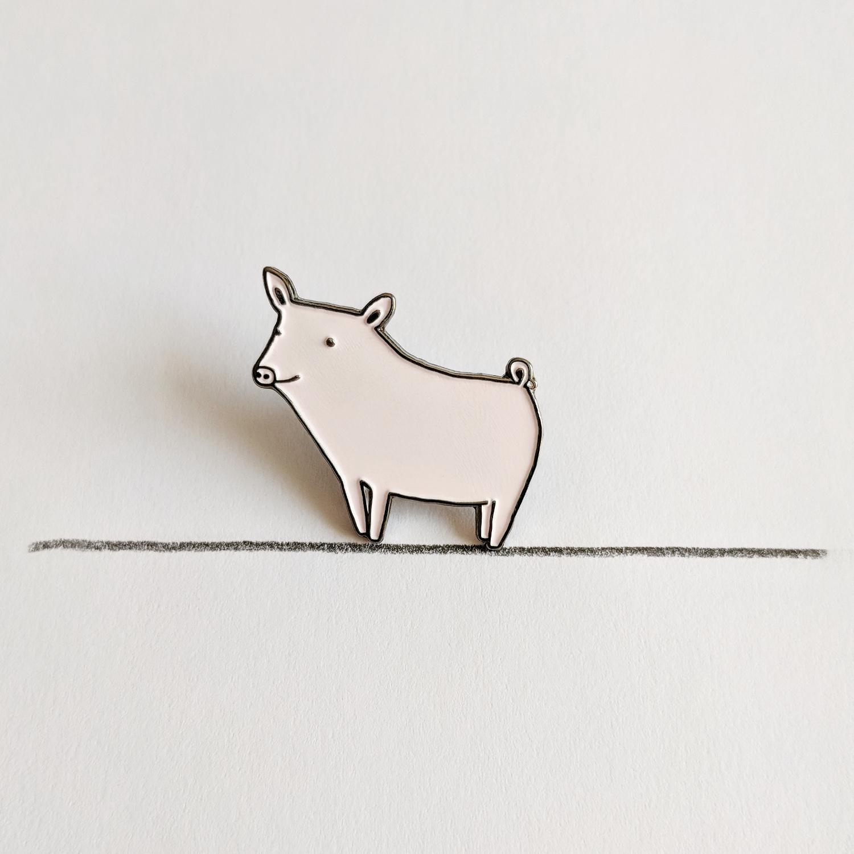 Happy Pig Pin